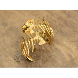 Artifact Brass Bracelet