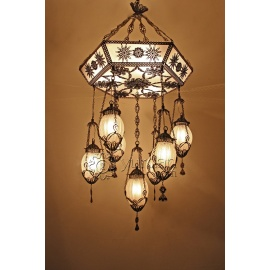 Filigree Ottoman Chandelier - FREE SHIPPING