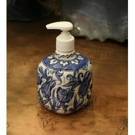 Iznik Design Ceramic Soap Pot