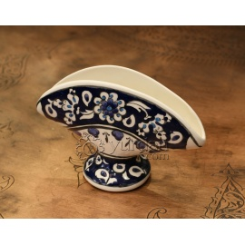 Iznik Design Ceramic Napkin Holder