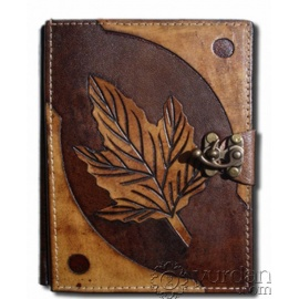 Handmade Turkish Leather Notebook (Medium)