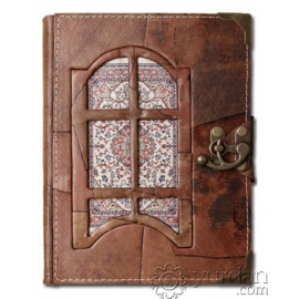 Handmade Turkish Leather Notebook (Large)