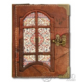 Handmade Turkish Leather Notebook (Small)