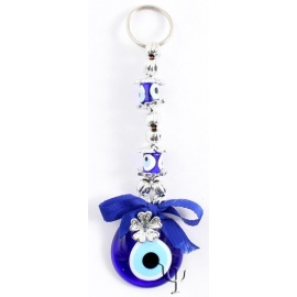 Turkish Evil Eye - Keychain