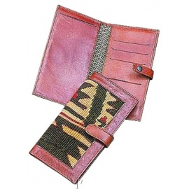 Kilim Check Book Holder