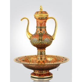 Asia Ewer with Plate