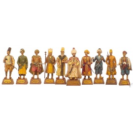 Set of Ottoman Human Figures