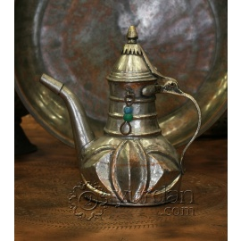 Old Turkish Copper Pitcher