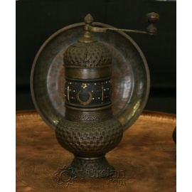 Old Turkish Copper Grinder