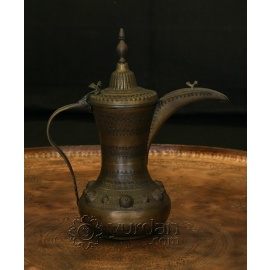 Old Turkish Copper Coffee Pot