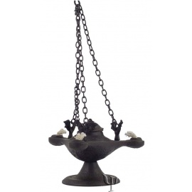 Aladdin Oil Lamp (Triple)