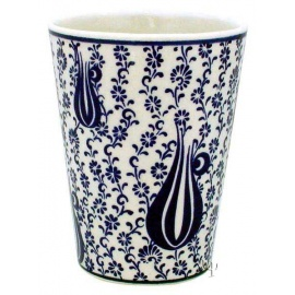 Iznik Design Ceramic Cup