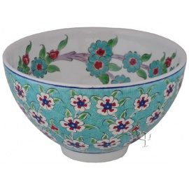 Iznik Design Ceramic Bowl - Tree of Life