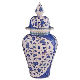 Iznik Design Ceramic Jar - Baba Nakkash