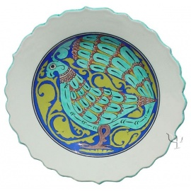 Iznik Design Ceramic Plate - Seljuk Early Period