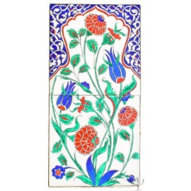 Iznik Tile Panel - Quartz - FREE SHIPPING