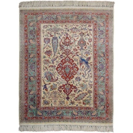 Turkish Rugs - Super Fine Hereke Silk Carpet