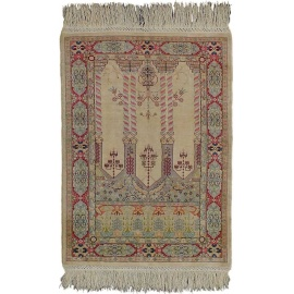 Turkish Rugs - Fine Hereke Silk Carpet