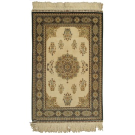 Fine Hereke Silk Carpet