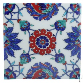 Iznik Tile - Quartz
