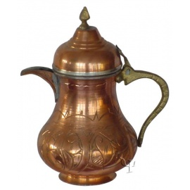 Turkish Copper Milk Pitcher