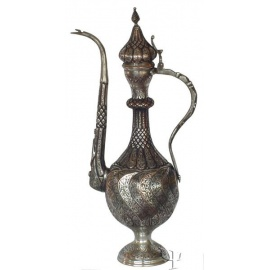 Sliced Turkish Copper Ewer