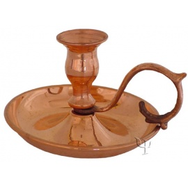 Turkish Copper Candlestick