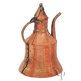 Turkish Copper Giresun Ewer