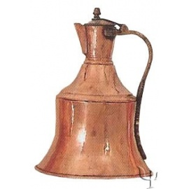 Turkish Copper Trabzon Water Jug (Large)