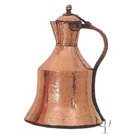 Turkish Copper Trabzon Water Jug (Medium)