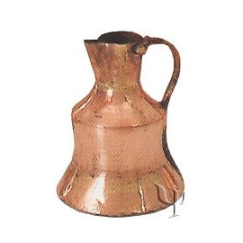 Turkish Copper Trabzon Water Jug (Small)