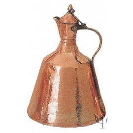 Turkish Copper Afyon Water Jug