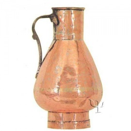 Turkish Copper Kayseri Milk Jug