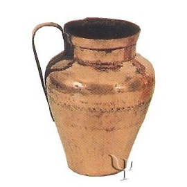 Turkish Copper Kayseri Cooking Pot (Small)
