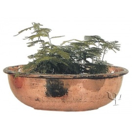 Turkish Copper Rounded Planter