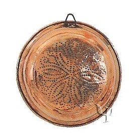 Turkish Copper Strainer (Medium)