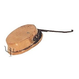 Turkish Copper Frying - pan with iron Handle (No:1)