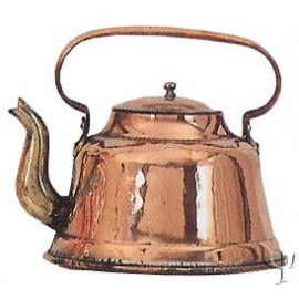 Turkish Copper Tea - kettle (Large)
