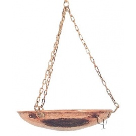 Turkish Copper Hanging Planter (Large)
