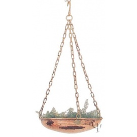 Turkish Copper Hanging Planter (Medium)