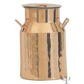 Turkish Copper Milk Jug with Handles (Large)