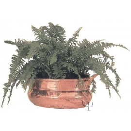 Turkish Copper Oval Deep Planter (Small)