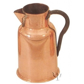 Turkish Copper Marash Milk Pot with iron Handle (Small)