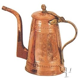 Turkish Copper Milk Pot (Medium)