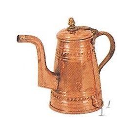 Turkish Copper Milk Pot (Small)