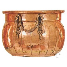 Turkish Copper Ball - Shaped Cauldron