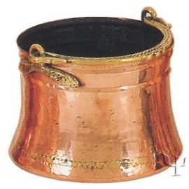 Turkish Copper Trabzon Bucket