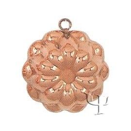 Turkish Copper Shallow Cake Mold (Medium)