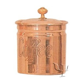 Turkish Copper Spice Set (Coffee Container)
