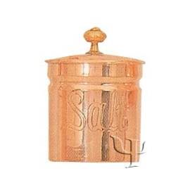 Turkish Copper Spice Set (Salt Container)